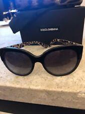 65a76dfd2cfb Dolce Gabbana Women s Black Cat Eye Sunglasses for sale