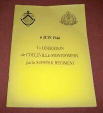 La libération de Colleville-Montgomery par le Suffolk Regiment - No Heimdal.