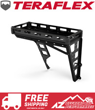 TeraFlex Alta Cargo Rack - Black Rails For 2007-2018 Jeep Wrangler JK 4830010
