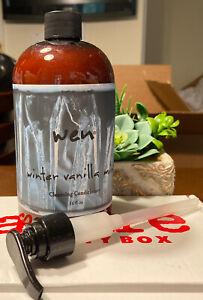 WEN Winter Vanilla Mint Cleansing Conditioner 16oz Big Size New Seal Shampoo