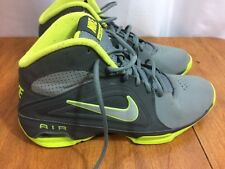 Nike Air Visi Pro 3 Men's Athletic Shoes Size 9 525745-004 Gray Neon Green