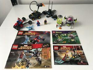 LEGO JOBLOT MARVEL / TNMT -76014 ,76029, 79100, 76008- INCOMPLETE SETS