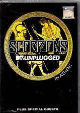The Scorpions: MTV Unplugged-Region Free DVD-Brand New-Still Sealed