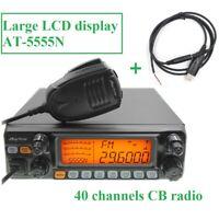 ANYTONE AT-5555N CB Radio 40 Channel 10M 28.000-29.700Mhz AM/FM/SSB Transceiver