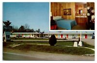 1950s/60s The Corral Motel, Frederickstown, MO Postcard *6L20