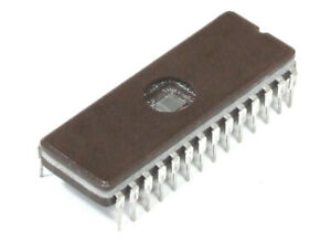 Signetics S27C256-17FA UV Eprom Erasable Memory DIP-28-Pin Memory Ceramic Ic