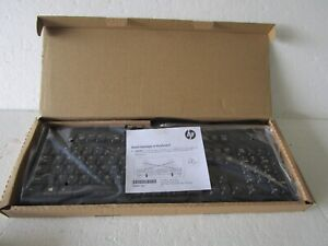HP Keyboard USB SK-2015/2025 computer Black New wired 672647-003