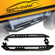 2x Side Step Nerf Bar Running Board Armor Bars for 07-17 Jeep Wrangler JK 4 Door