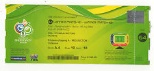 Orig.Ticket   World Cup Germany 2006   FINAL   ITALY - FRANCE  //  EXTREM RARE