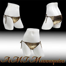 Female white glossy mannequin hips display panties/ life size manequin hips-Fk