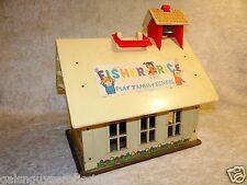 1971 Fisher Price Play family School Preschool  Chalk Board 923