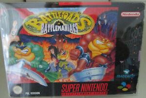 Battletoads in Battlemaniacs (Nintendo SNES) PAL OVP/Modul/Anleitung#TW