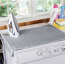 Table Top Folding Portable Caravan Travel Ironing Blanket Board Cover Mat AC