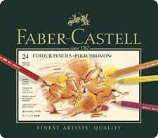 F363156f Faber-castell 110024 Crayon de couleur Polychromos Boîte Métal de 24 Pi