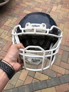 SCHUTT vengeance VTD II American Football Helmet LARGE Navy/White