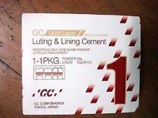 GC FUJI I 1 Powder & Liquid Luting Cement Large Pack, Expiry - October 2020