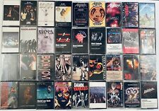 Metal Cassette Tapes YOU PICK Speed Thrash Glam: ACDC Kiss Motley BUY & SAVE