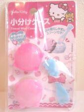 Sanrio Hello Kitty travel accessory cream mini case Kawaii cute Japan New F/S