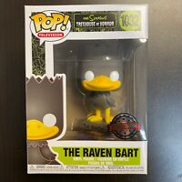 FUNKO POP SIMPSONS TREEHOUSE OF HORROR RAVEN BART SPECIAL EDITION / BOXLUNCH