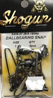 Shogun Ball Bearing Snap Swivels (FREE SHIPPING!)