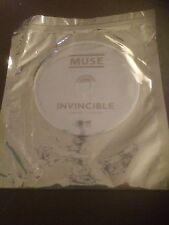 MUSE INVINCIBLE GREY PROMO CD **EXCELLENT CONDITION** RARE!!