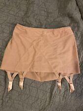 La Perla Nude Garter Skirt EUC US 8