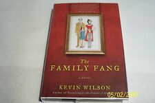 The Family Fang,Kevin Wilson,Ecco,2011,Book to Movie Signed,Hardcover,Dustjacket