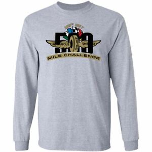 2021 INDY 500 Indianapolis Speedway Men's T-shirt 105th Car Racing Long Sleeves