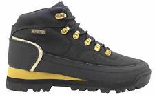 UK SIZE 7 - SUPERTREK POCKET HIKER BOOTS - BLACK / GOLD