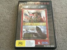 EMPIRE TOTAL WAR GOLD EDITION PC DVD-ROM