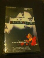 Blind Vision VHS no DVD ex-rental video tape Robert Vaughn Louise Fletcher HTF