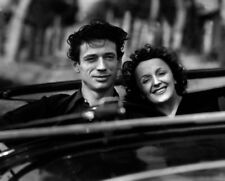 Yves Montand and Edith Piaf UNSIGNED photograph - L9707 - Etoile sans lumière