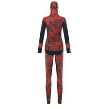 3.5mm Red Camouflage Wetsuit Spearfishing Diving Suit Wetsuit Fishing Hunting