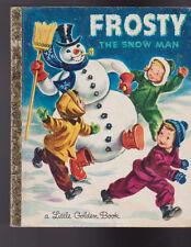 Frosty the Snowman Little Golden Book 13th Print Corinne Malvern