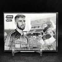 2018 Diego Rossi Stadium Club Black And White SP Rookie Card RC MLS Soccer B&W