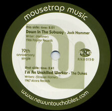 """JACK HAMMER / THE DUKES Down In The Subway vinyl 7"""" garage psych soul R & B"""