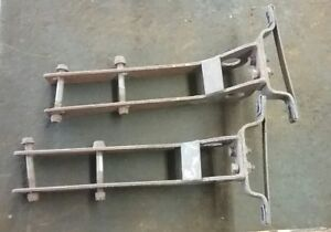 Jensen Healey - Chrome Bumper Rear Mounting Bracket Set
