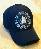 US SPACE FORCE Patch Style Cap Hat 🇺🇸 Military Department Of The Air Force NEW