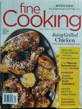 Fine Cooking June July 2017 Juicy Grilled Chicken Vegetables FREE SHIPPING sb