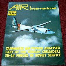 Air International Magazine 1987 September RF-8 Crusader,He111,Su-24,Taiwan