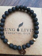 Young Living Ätherische Öle Lava Stein Armband