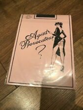 Agent Provocateur Black Seam Free Original Stockings - Size A - BRAND NEW!