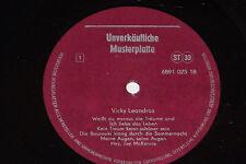 VICKY LEANDROS - LP Musterplatte Promo VEB Amiga AWA DDR