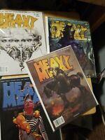 Heavy Metal #288 1st Peach Momoko Interior Art Frazetta Cover 290 299. 4 books