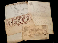 Collection Of Four Manuscripts 1700-1800s