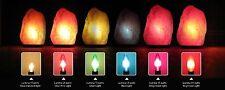 HIMALAYAN SALT LAMP DEEP COLOR LIGHT BULB 15 WATT TORPEDO CANDELABRA BASE TESTED