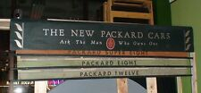 1930's Packard sign from the porcelain neon sign era