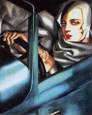 Autoportrait ists Art Poster Print by Tamara de Lempicka, 16x20