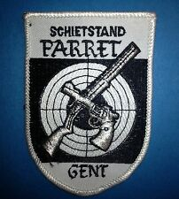 Vintage 1970's Schietstand Parret Gent Jacket Hat Patch Crest