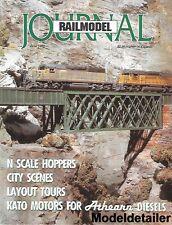 Railmodel Journal June 92 UP Union Pacific Utah D&RGW EMD GP9 B&O Kato Athearn